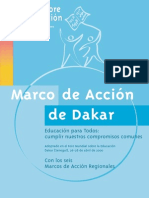Educaion Para Todos de Dakar