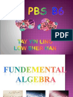 Fundemental Algebra