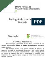 Português Instrumental - Dissertação