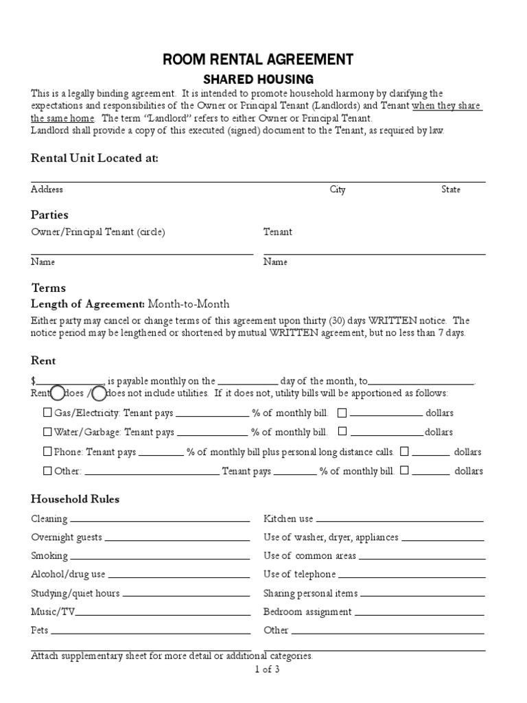 Rental Agreement FORM   Leasehold Estate   Landlord