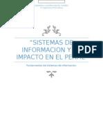Sistemas de Informacion y su impacto