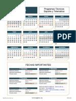 Calendario 2015 TEC