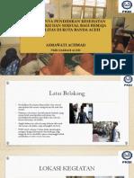 Pentingnya Pendidikan Kesehatan Reproduksi dan Seksual bagi Remaja Disabilitas di Kota Banda Aceh