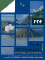 PROFIL PERTANAHAN Provinsi Jawa Timur 2015