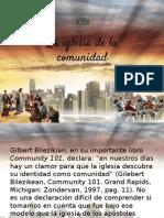Iglesia en La Comunidad - Manolo