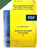 dr. Ángyán Lajos_Bevezetés az ember élettanába_vér és keringés