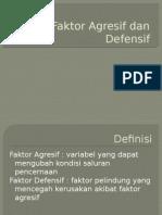 Faktor Agresif Dan Defensif