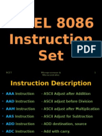 8086 Instruction Set
