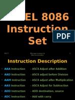 8086 Instruction Set