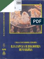 Marjanovic-Dusanic, Smilja 1997 - Vladarska Ideologija Nemanjica