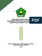 Kaldik Madrasah 2015 2016 Jateng