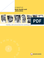 Australian WHS Strategy 1st Progress Report