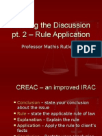 Rule Application & Drafting the Discussion pt 2.ppt