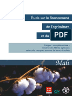 Mali Analyses Filieres Agricoles