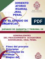 PROCEDIMIENTO ACUSATORIO GENERALIDADES