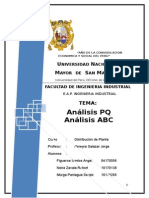 Análisis PQ - Análisis ABC