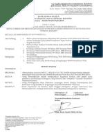 Surat keputusan Kepala sekolah Baru