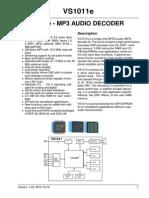 Datasheet VS1011E