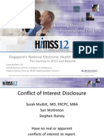 HIMSS 12 - Singapore EMR