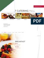 Event Catering Menu by Grand Hyatt Bali