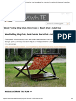 Ana White _ Build a Wood Folding Sling Chair, Deck Chair or Beach Chair - Adult Size _ Free and Easy DIY Project and Furniture Plans