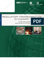 Ifc Regulatory Transformation in Hungary 1989 98