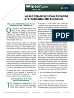 Data Security Regs White Paper
