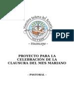 Proyecto Mes Mariano