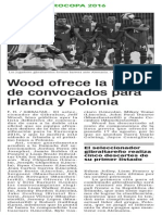 150902 La Verdad CG- Wood Ofrece La Lista de Convocados Para Irlanda y Polonia p.14