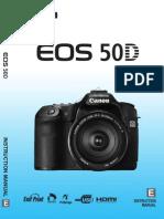 Canon EOS 50D User Manual