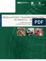 Regulatory Transformation in Mexico 1998 2000