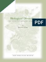 Biological diversity. Edward O. Wilson.pdf