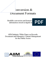 [EN] DLM Forum Industry Whitepaper 02 Conversion & Document Formats | Nancy Romany