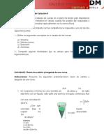 Actividades. Unidad 4 b1 Cálculo Diferencial
