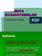 DINAMICA ECOSISTEMELOR