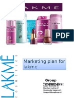 Lakme Marketing Plan