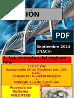 Filiacion Unachi 2014 Septiembre