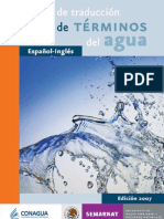 2007 CONAGUA Spa-Eng Translation Guide