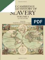 The Cambridge World History of Slavery 1420 - 1804