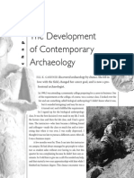 The Development in Contemporaly Archeology