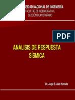 Analisis de Respuesta Sísmica