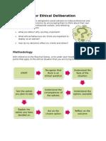 Worksheet for Ethical Deliberation