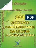 1697_lei de Inelegibilidade - Lc 64_90 - Apostila Amostra