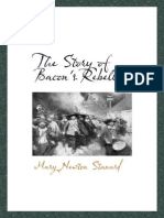 The Story of Bacons Rebellion