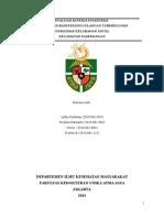 Evaluasi Program TB Kelurahan Ancol