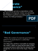 Issues of Bad Governance