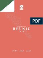 Programme Reunic Web