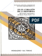 21. en El Corazón de La Reforma. Beato Pedro Fabro SJ. Antonio Alburquerque SJ.