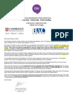 SC Invitation Letter Forms a B 2015