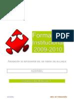Manual de formación Institucional AESRIBU